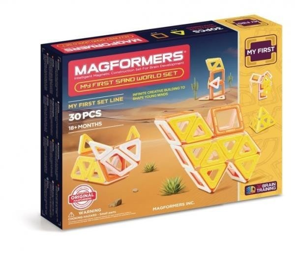 MAGFORMERS My First Sand World 30el 702010