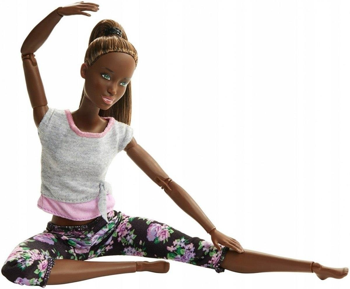 MATTEL Barbie Made To Move Ruchoma lalka fitness