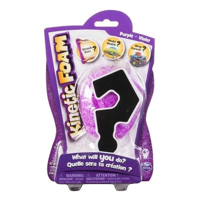 SPIN MASTER KINETIC FOAM VALUE PACK FIOLETOWY